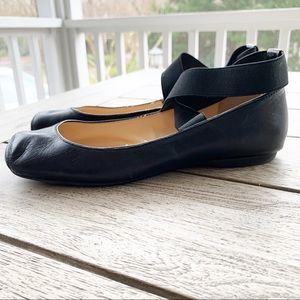 Jessica Simpson Mandalaye 7.5 Ballet Leather Flat